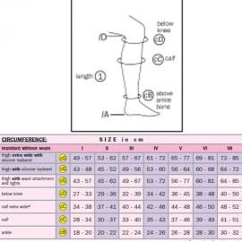 Mediven Elegance AD térdharisnya (standard) 2 db/doboz II.Kompressziós