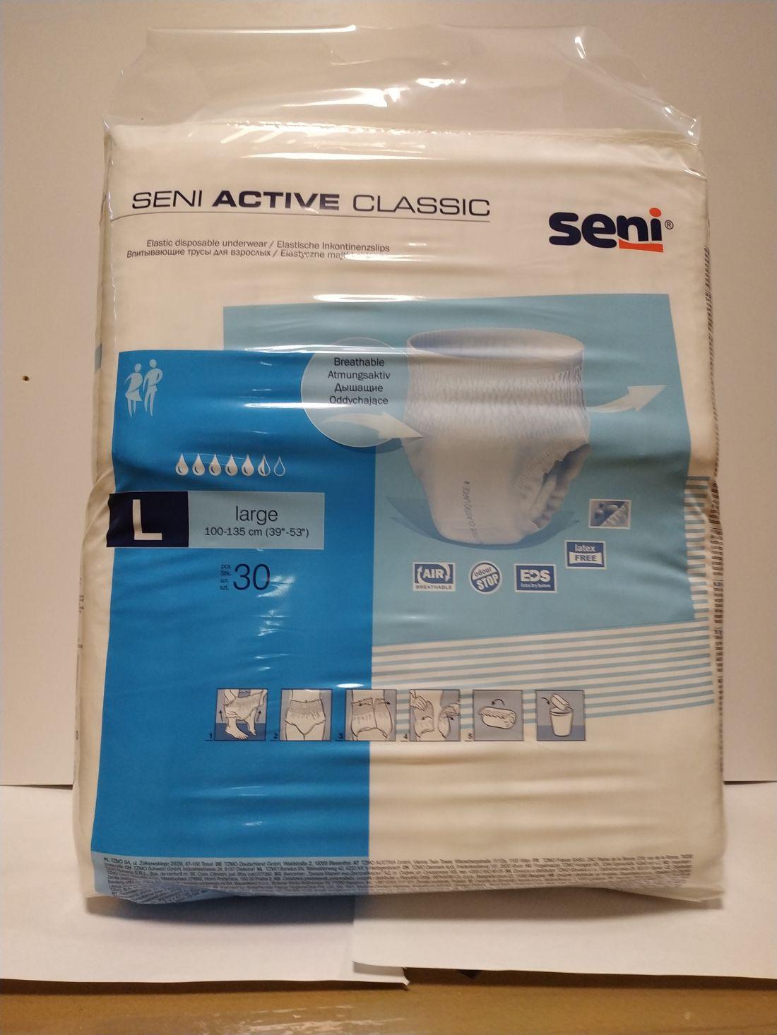 Seni Active Classic felnőtt nadrágpelenka L (1513ml)