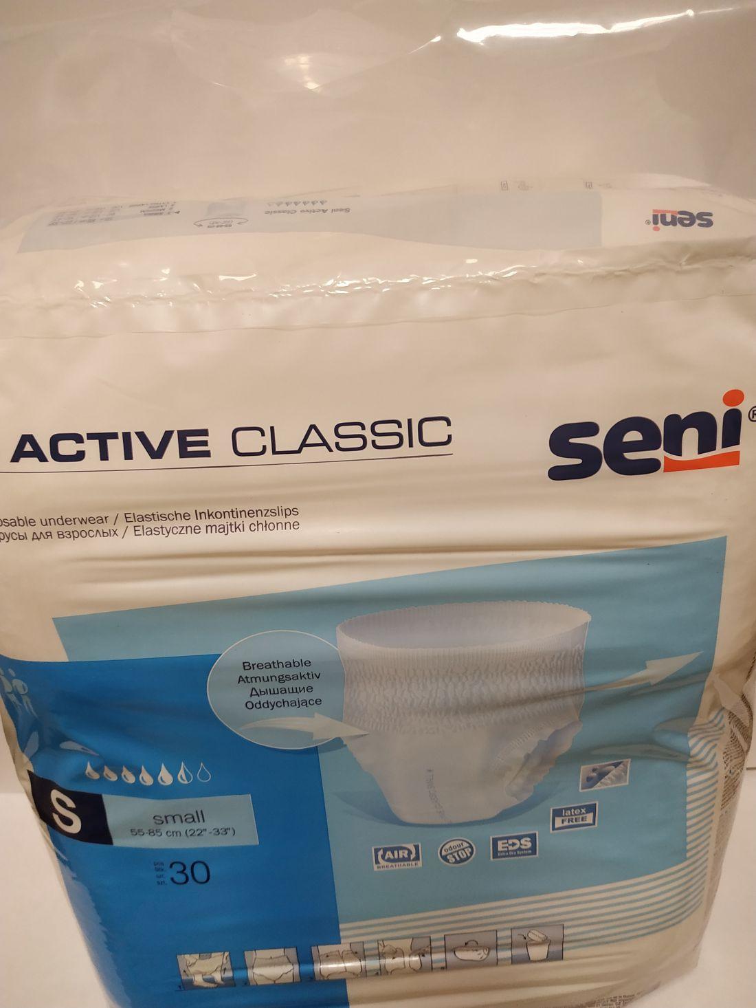 Seni Active Classic S (1200ml) 30db/csomag
