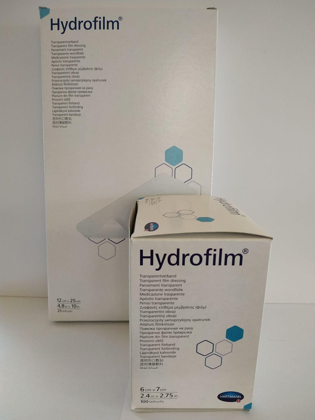 Hydrofilm átlátszó filmkötszer 12x25 cm