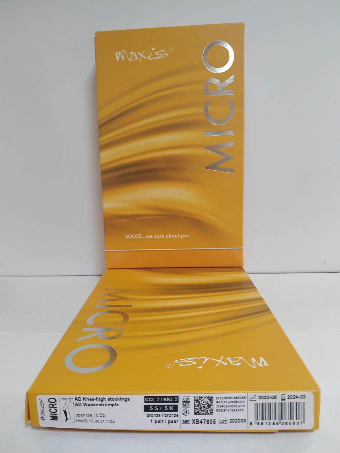 Maxis Micro AD térdharisnya (standard) 2 db/doboz