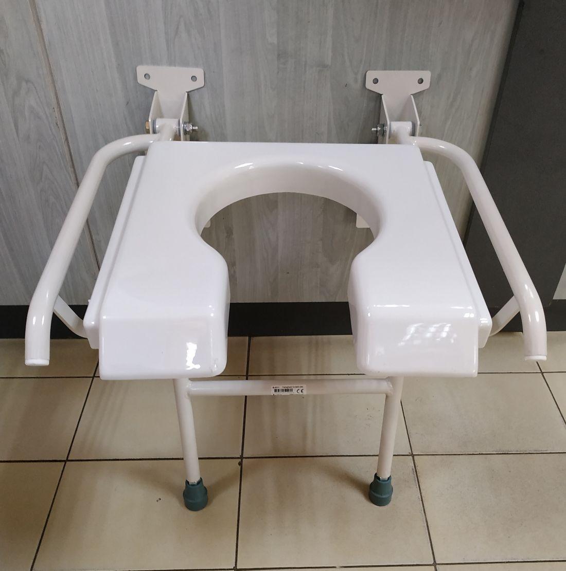 B 4311 (falra szerelhető, felhajtható) zuhany ülőke