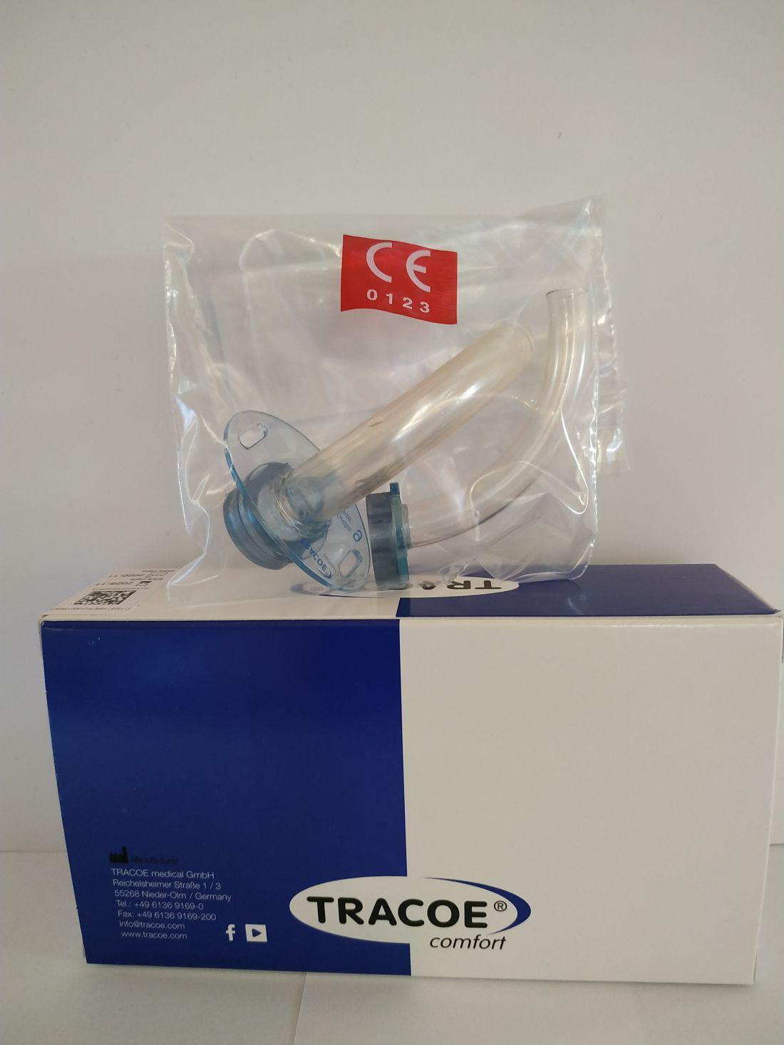 Tracoe 102 D tip. légcsőkanül