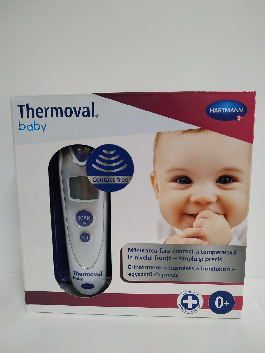 Thermoval Baby érintés nélküli lázmérő.