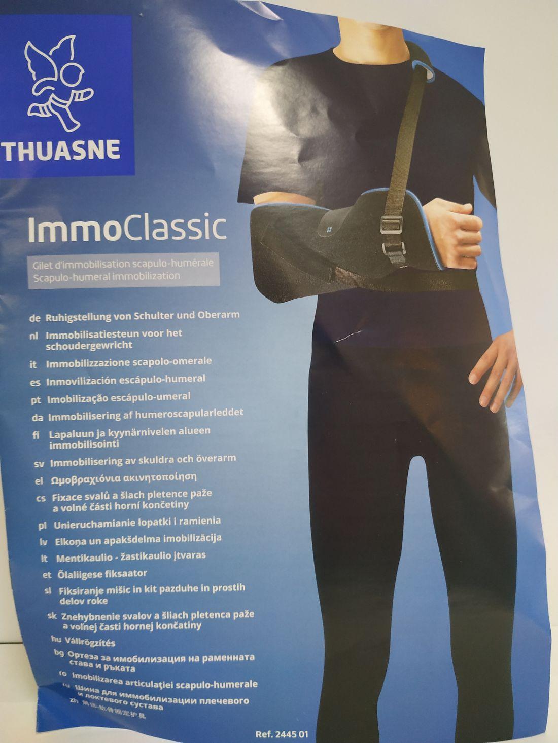 Immo classic váll-és karrögzítő heveder