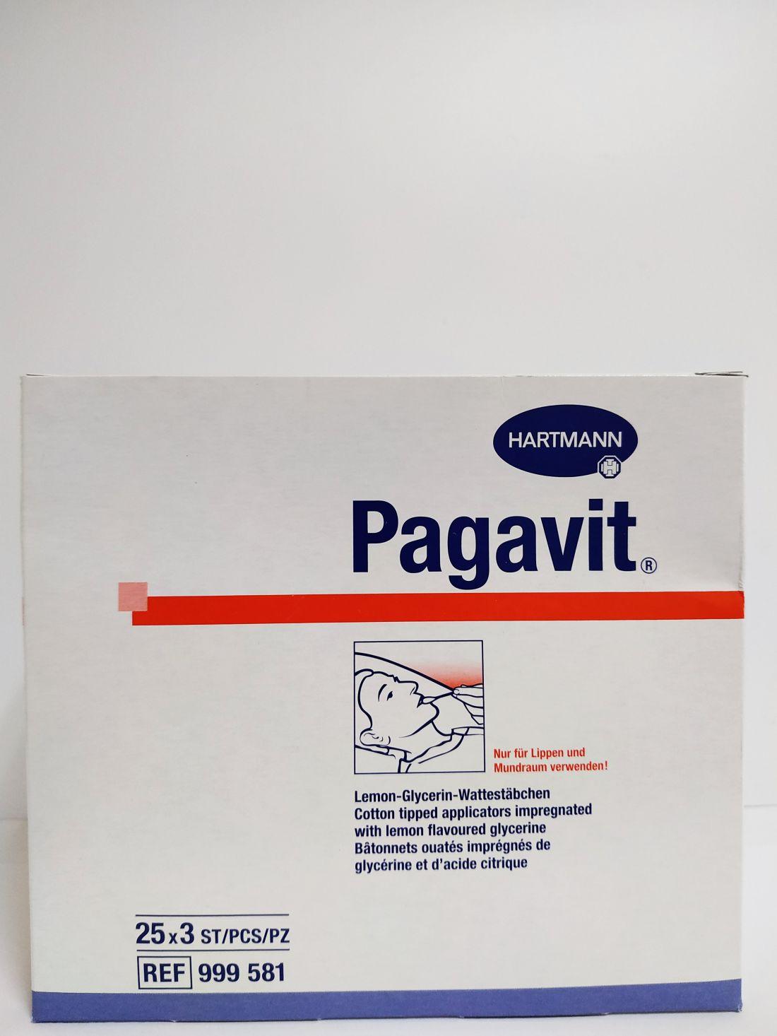 Pagavit Hatékony szájápolást biztosító glicerines, citromos pálcás tampon