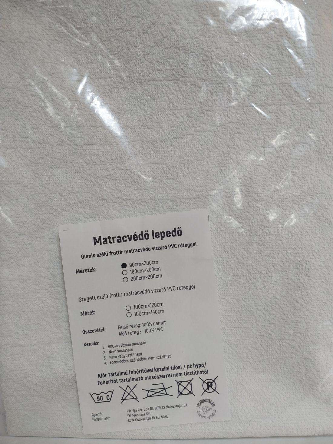 Matracvédő lepedő 90*200cm