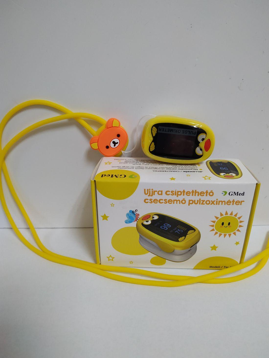 GMed csecsemő és gyerek pulzoximeter