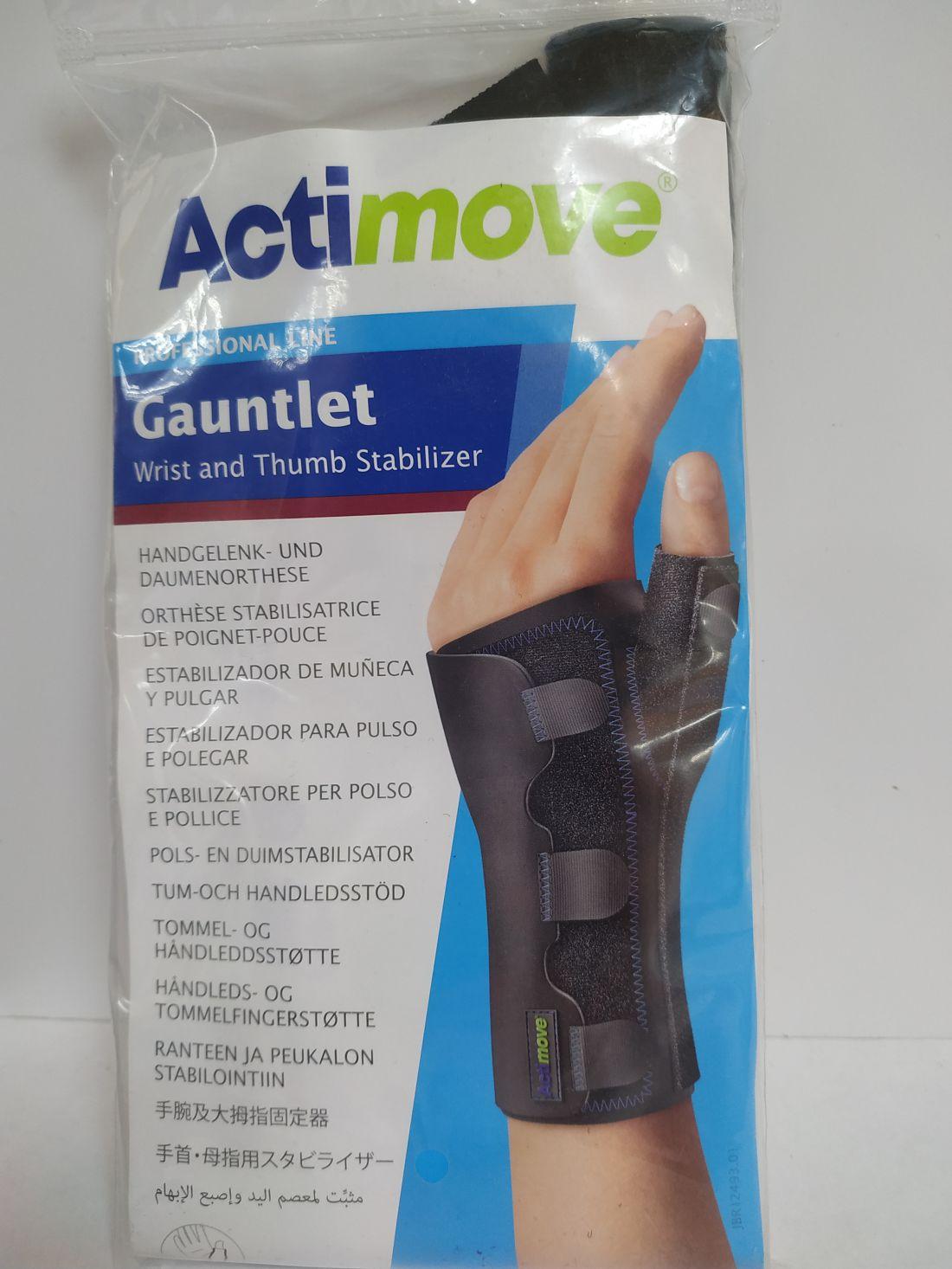 Actimove Gauntlet csuklórögzítő ortézis